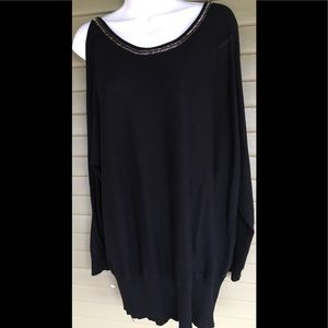 Lane Bryant Sweater Size 18/20 Open Sleeve Cut Out